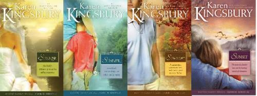 karen kingsbury sunrise series