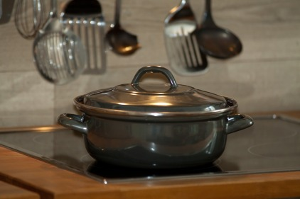 pots kitchen dinner