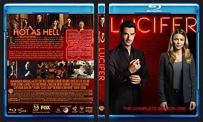 Lucifer (2016) Season 1 BluRay Cover