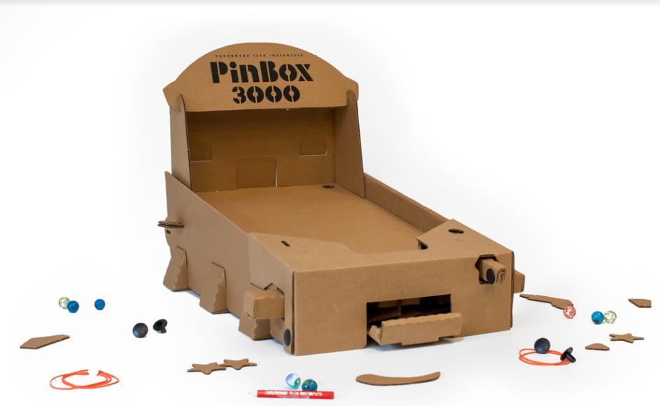 how to build a pinball machine