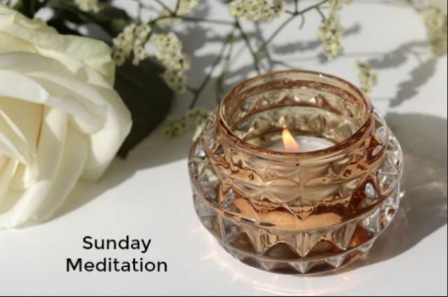 Sunday Meditation