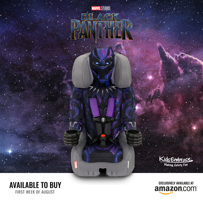KidsEmbrace-Black-Panther-car-seat