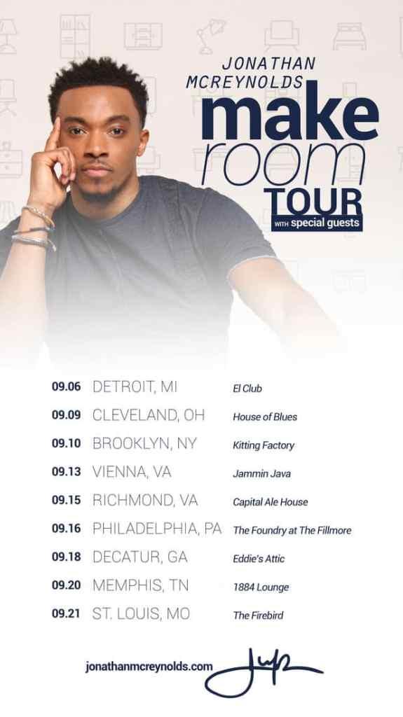Jonathan Mcreynolds Announces Dates For Fall Tour