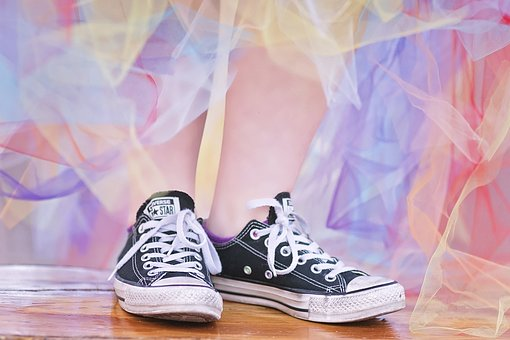 converse little girls shoes