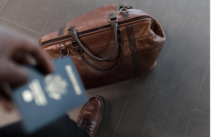 travel luggage passport